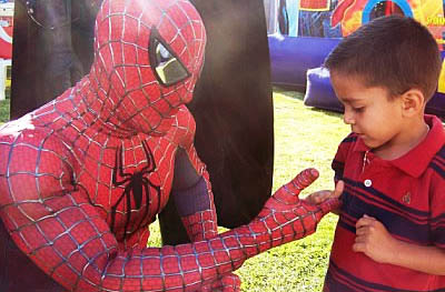 Spider Guy Party Characters For Kids