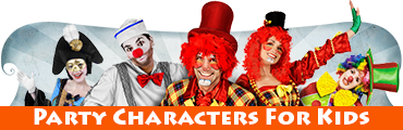 Party Characters For Kids