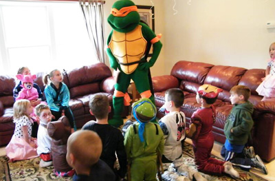 Ninja Turtle Party Characters For Kids