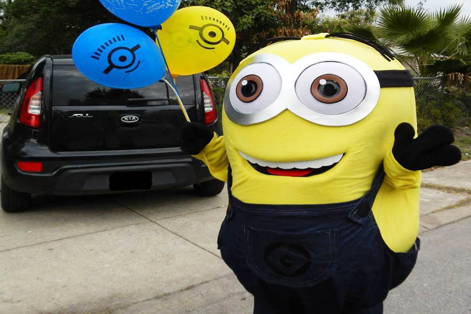 Despicable Boy Party Characters For Kids