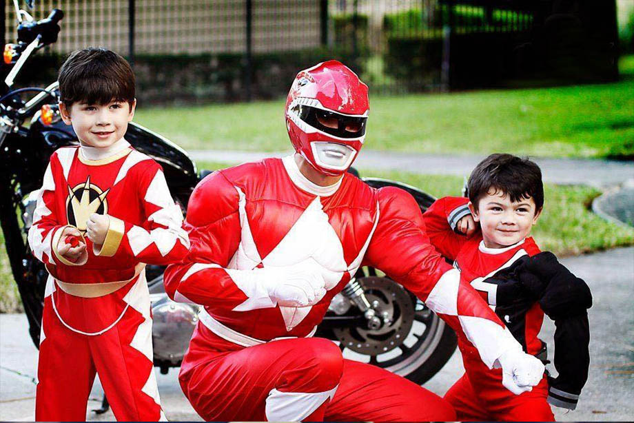 Power Ranger Party Characters For Kids