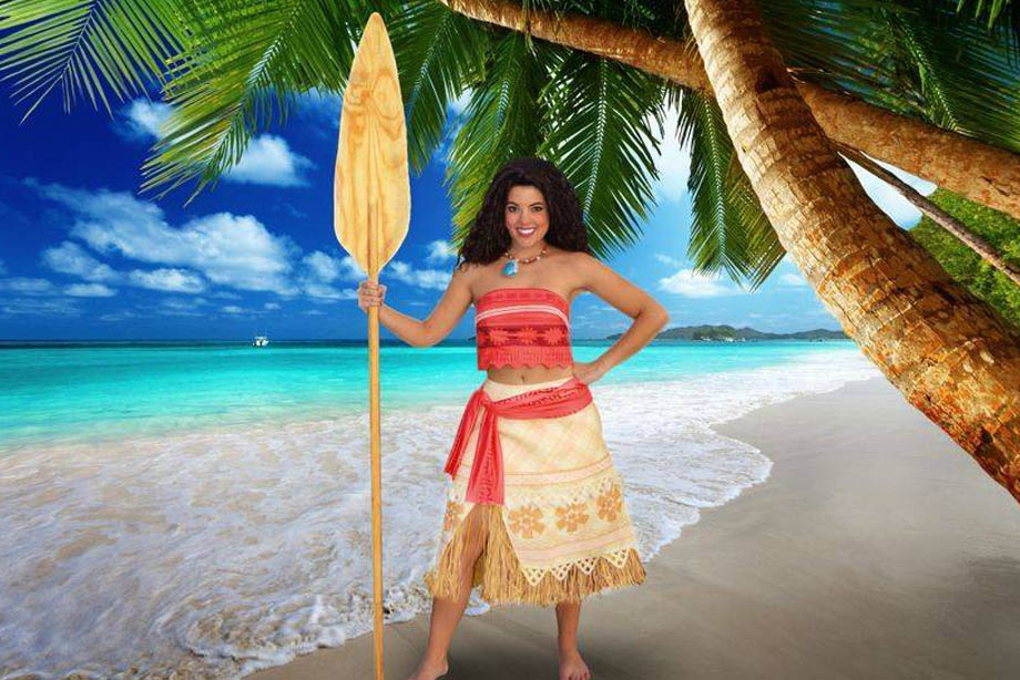 Hire princess Moana for parties | Party Characters For Kids